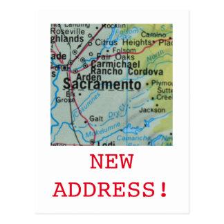 Nueva invitación de la dirección de Sacramento Postal