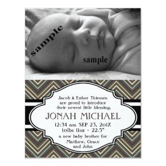 Nueva invitación del nacimiento del bebé o del