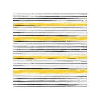 Nueva lona de lujo en tienda: negro y oro impresión en lienzo