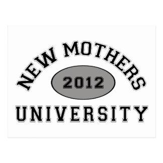 Nueva madre 2012 postal