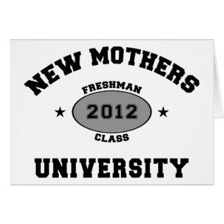 Nueva madre 2012 felicitación