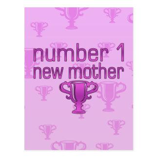 Nueva madre del número 1 postal