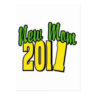 Nueva mamá 2011 postal