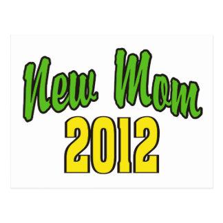 Nueva mamá 2012 postal