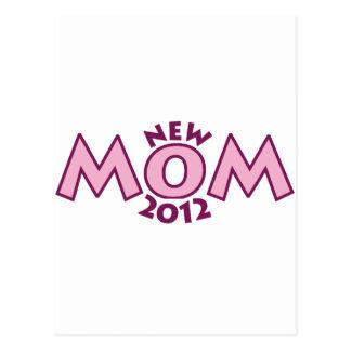 Nueva mamá 2012 tarjetas postales