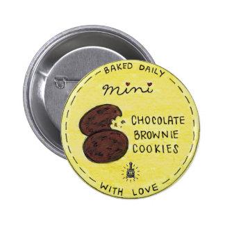 NUEVA mini etiqueta del bolso de la galleta del br Chapa Redonda 5 Cm