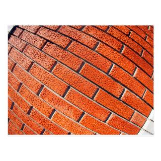 Postales textura del ladrillo rojo tarjetas postales - Ladrillos decorativos para pared ...