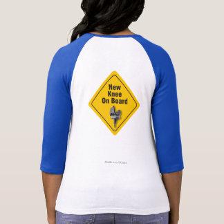 """Nueva rodilla a bordo"" la camiseta total del"