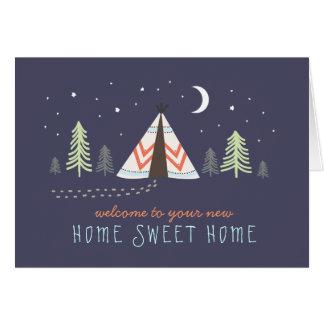 Tarjetas de felicitación para la nueva casa