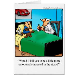 Nueva tarjeta de felicitación de los padres de la
