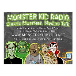 Nueva tarjeta de la radio del niño del monstruo