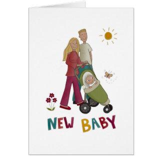 Nueva tarjeta del bebé