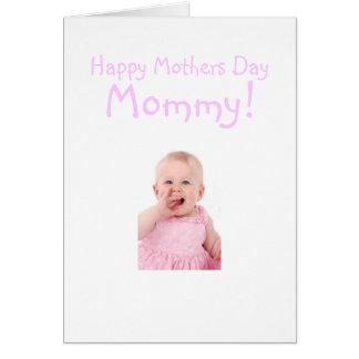 Nueva tarjeta del día de madres de la mamá de la