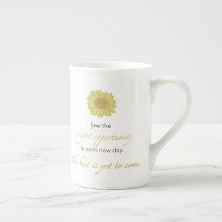 Nueva taza brillante de China del día