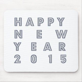 Nueva víspera feliz 2015 de los year´s alfombrillas de raton