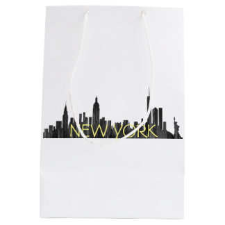 NUEVA YORK, BROCHA DEL HORIZONTE DE NY - BOLSA DE REGALO MEDIANA