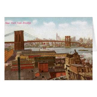 Nueva York de Brooklyn Tarjeta De Felicitación