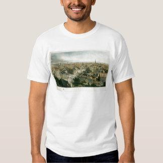 Nueva York de la aguja de la iglesia de San Pablo Camisetas