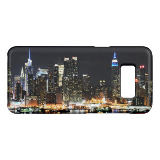 Nueva York en la noche Funda De Case-Mate Para Samsung Galaxy S8