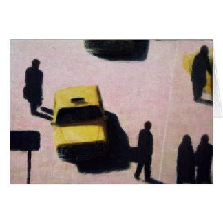 Nueva York lleva en taxi 1990 Tarjeta De Felicitación
