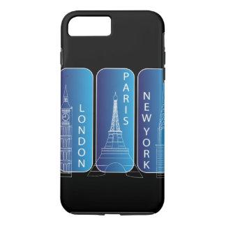 Nueva York, Londres, París Iphone 6 duro Funda iPhone 7 Plus