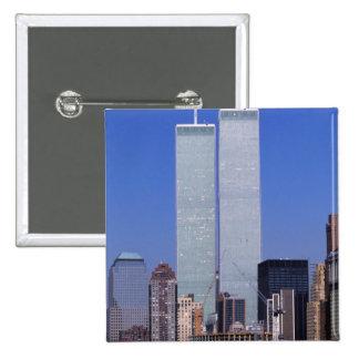 Nueva York, los E.E.U.U. Torres gemelas del mundo  Pin