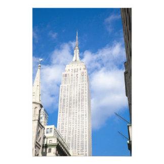 Nueva York, NY, los E.E.U.U. - una vista de nuevo  Fotografia