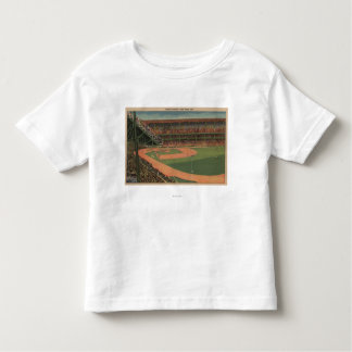 Nueva York, NY - Yankee Stadium Camiseta De Bebé