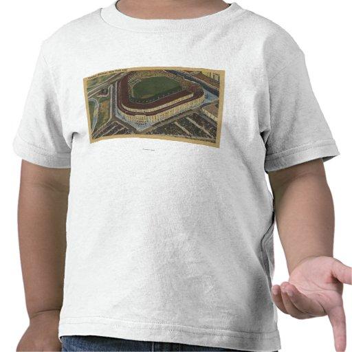 Nueva York, NY - Yankee Stadium del aire #1 Camiseta