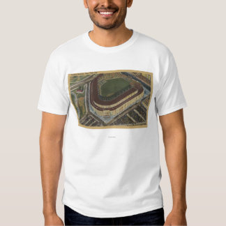 Nueva York, NY - Yankee Stadium del aire #1 Camisetas