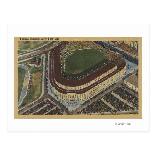 Nueva York, NY - Yankee Stadium del aire #1 Tarjeta Postal