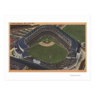 Nueva York, NY - Yankee Stadium del aire #2 Postal