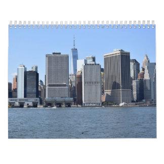 Nueva York para los Locals, del calendario del