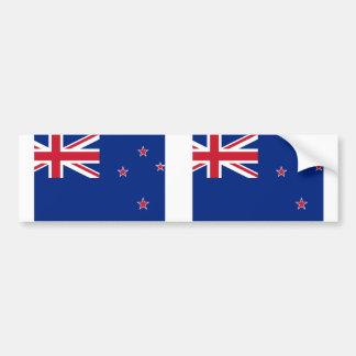 Nueva Zelanda, bandera de Nueva Zelanda Pegatina Para Coche