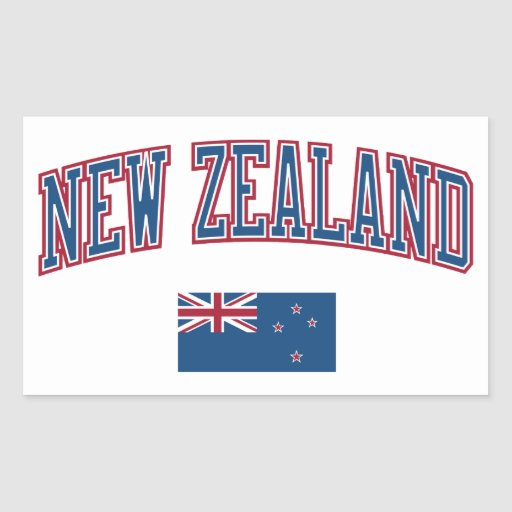 Nueva Zelanda + Bandera Rectangular Altavoz