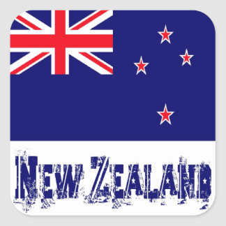 Nueva Zelanda Colcomanias Cuadradas
