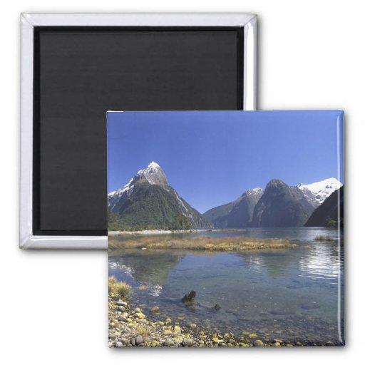 Nueva Zelanda, pico del inglete y Milford Sound, Iman De Frigorífico