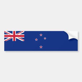 Nueva Zelanda/Zealander/bandera del kiwi Pegatina Para Coche