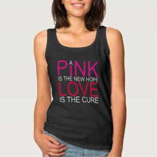 Nuevas camisetas sin mangas rosadas de la