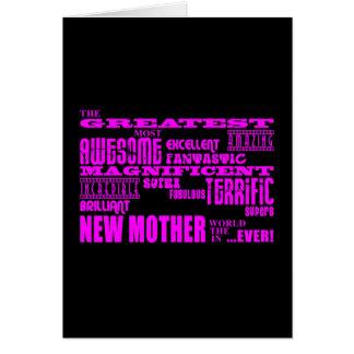 Nuevas madres de la diversión moderna fresca: La Tarjeta Pequeña