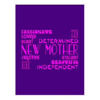 Nuevas madres y nuevas fiestas de bienvenida al postal