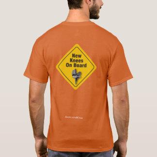 """""""Nuevas rodillas a bordo"""" la camiseta bilateral de"""