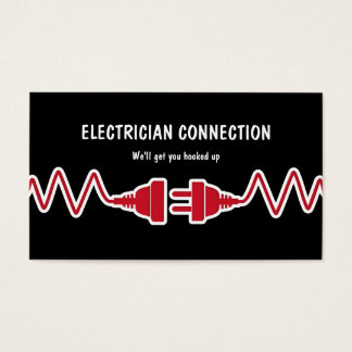Nuevas tarjetas de visita del electricista