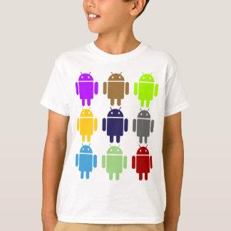 Nueve insecto Droids (humor múltiple androide de Camiseta