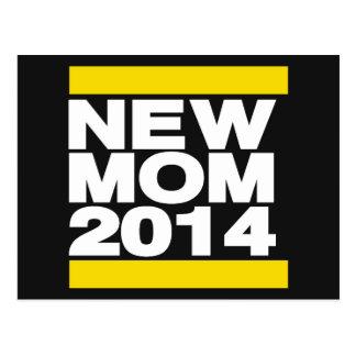 Nuevo amarillo de la mamá 2014 postal