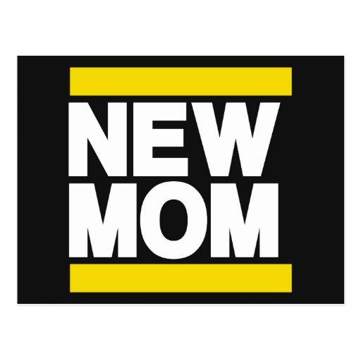 Nuevo amarillo de la mamá postales