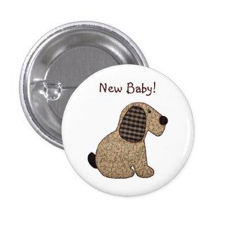 Nuevo bebé del estilo rural del perro lindo de la pin
