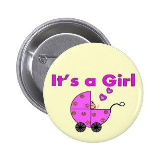 """Nuevo bebé """"es los regalos de un chica"""" pin"""