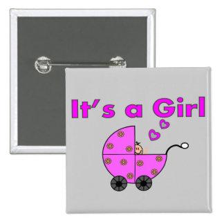 """Nuevo bebé """"es los regalos de un chica"""" pins"""