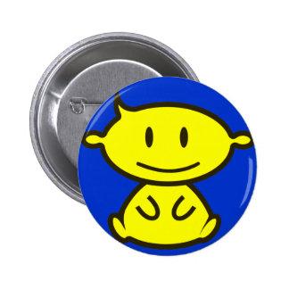 Nuevo botón del logotipo de las producciones del b pins